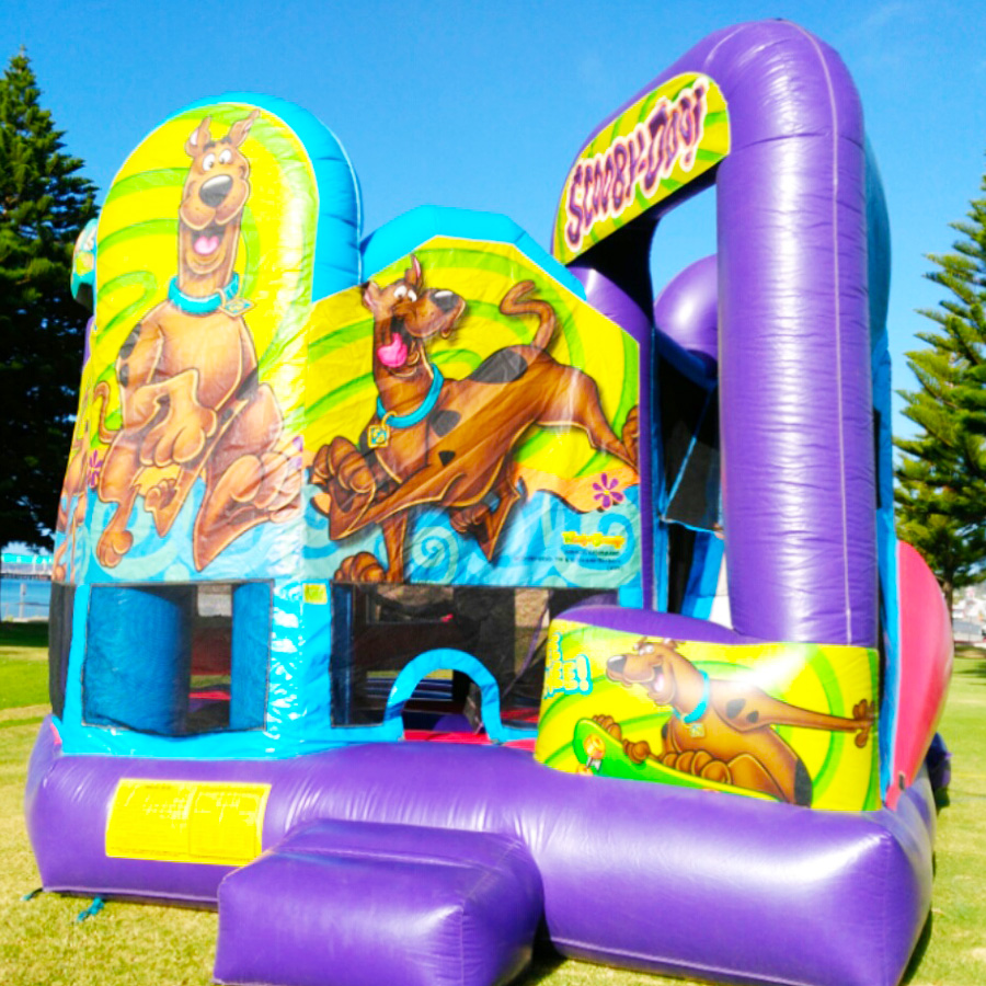Jumping Castle Scooby Doo
