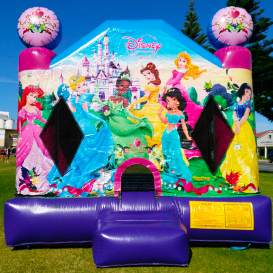 Jumping Castle Disney Princesses