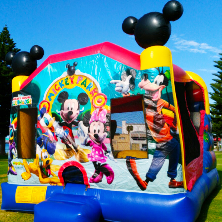 Jumping Castle Mickey Mouse